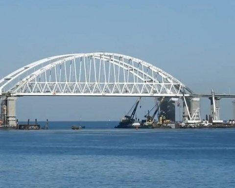 Українська компанія постачала матеріали для будівництва кримського мосту: подробиці