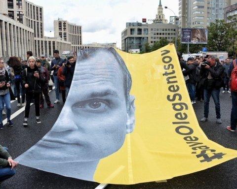 Активисты с плакатами «Спасите Сенцова» пытались пересечь границу Финляндии