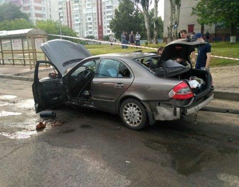 Вибух автомобіля у Черкасах: прокуратура зробила заяву про замовне вбивство