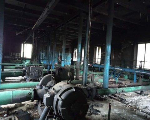 Вооруженный поджег насосной станции совершили на Одесщине (фото)