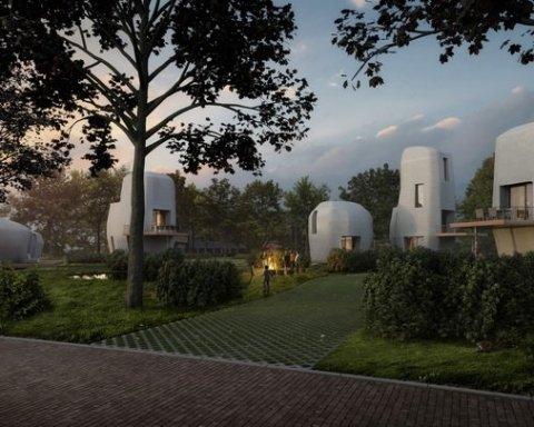 В Нидерландах построят квартал при помощи 3D-принтера
