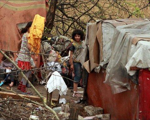 Новый погром лагеря ромов в Киеве: появились подробности