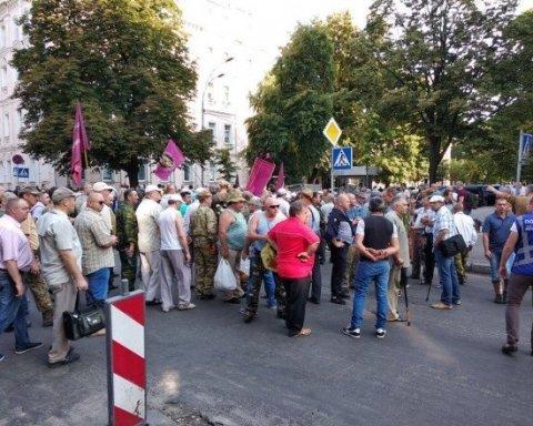 Протесты под Радой: возросло количество задержанных полицией