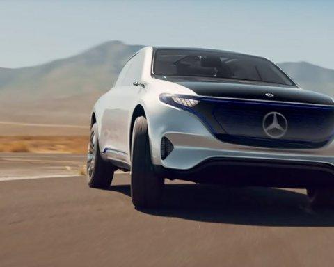 Mercedes презентував новий електромобіль: відео