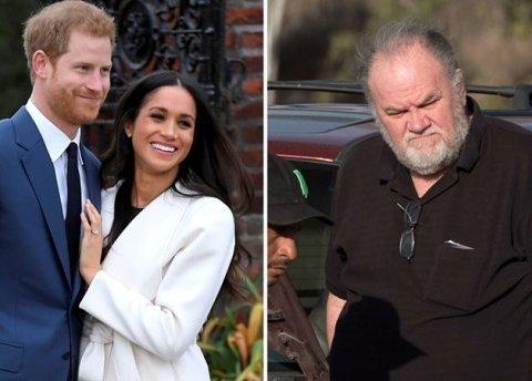 Батько Меган Маркл розповів про таємну бесіду з принцом Гаррі