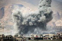 Войска Асада нанесли авиаудар в Сирии