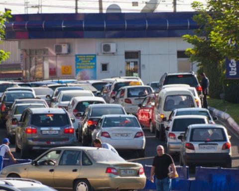 В оккупированом Донецке проблема с бензином
