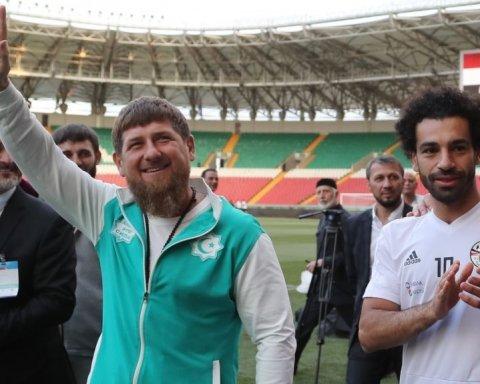 Мохаммед Салах получил значок почетного гражданина Чечни
