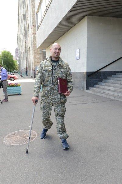 В Киеве ограбили ветерана АТО