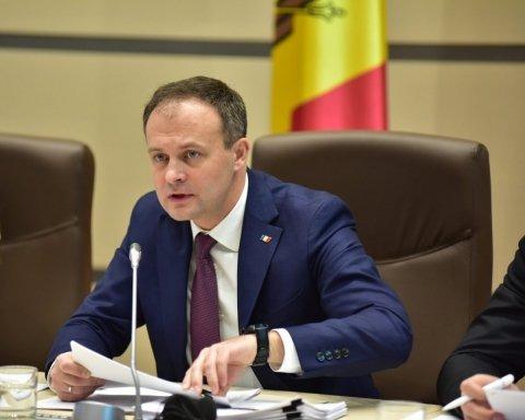 Парламент Молдовы заявил о совместных действиях с Украиной и Грузией против агрессии РФ