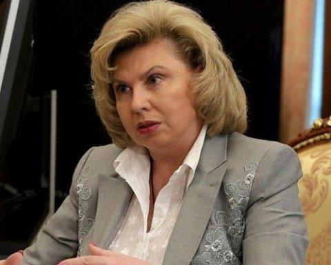 Москалькова розповіла на яких умовах Денісова зможе відвідати Сенцова