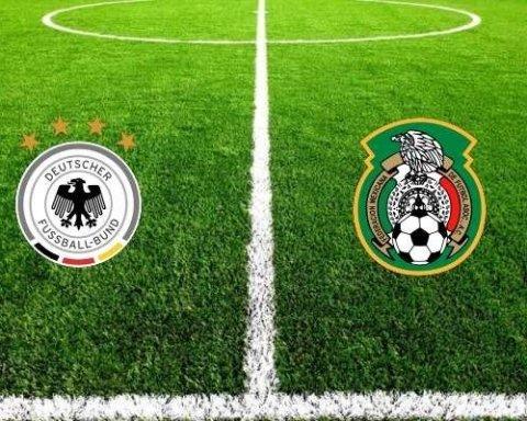 Німеччина-Мексика: де дивитися матч ЧС-2018