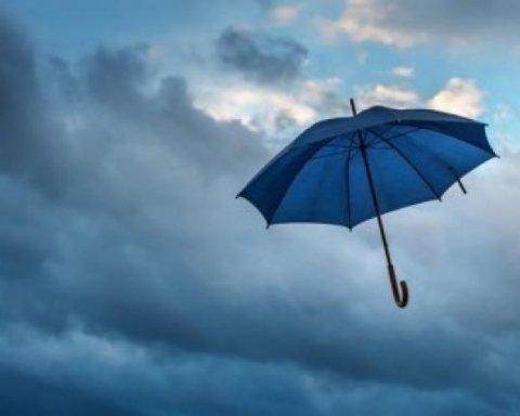 Заллє дощами: синоптики дали свіжий прогноз погоди для України