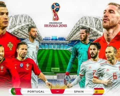 Роналду зробив хет-трик у матчі ЧС-2018: Іспанія і Португалія зіграли внічию