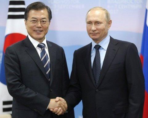 Лидеры РФ и Южной Кореи провели переговоры