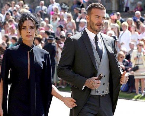 Виктория и Дэвид Бекхэм продают роскошные наряды со свадьбы принца Гарри