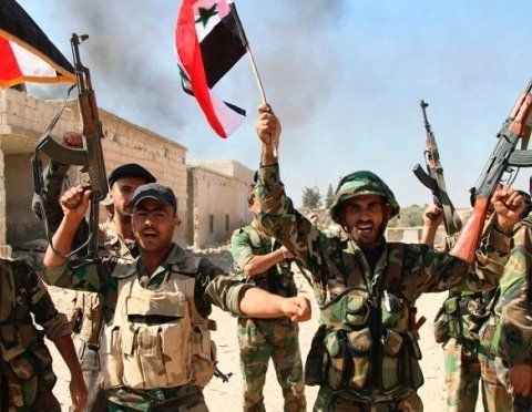Войска Асада пошли в наступление
