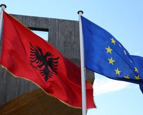 Нідерланди не хочуть бачити Албанію в ЄС
