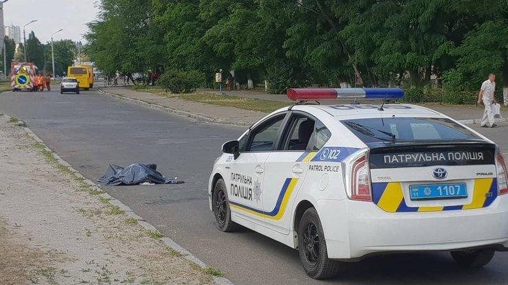 Велосипедист умер в Киеве