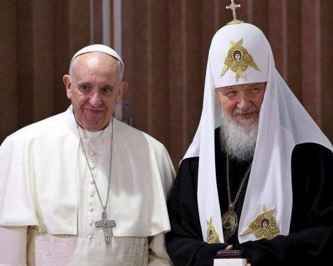 Папа Римський хоче налагодити діалог із РПЦ