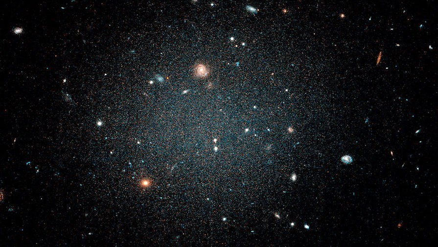 Астрономи знайшли галактику, яка не змінювалася мільярди років
