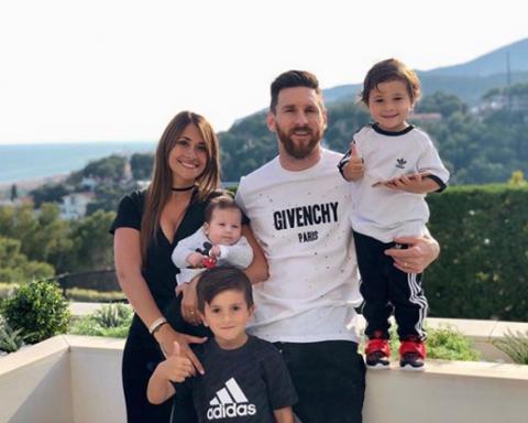 Жена Месси поздравила футболиста в соцсетях милыми семейными снимками