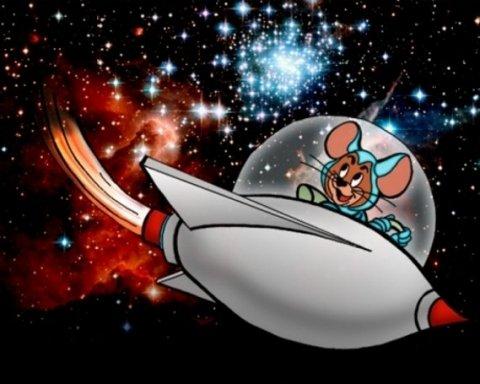 Мишей відправили в космос, щоби людям краще спалося