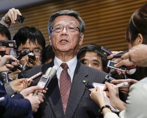 Японський губернатор вимагає прибрати з країни воєнні бази США