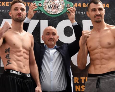 Украинский боксер уступил британцу на ринге в Шотландии: запись боя
