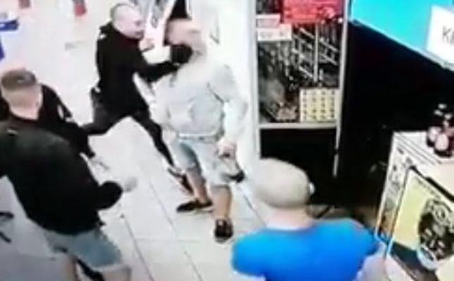 Жестокое избиение в «Сильпо»: как выглядят нападающие