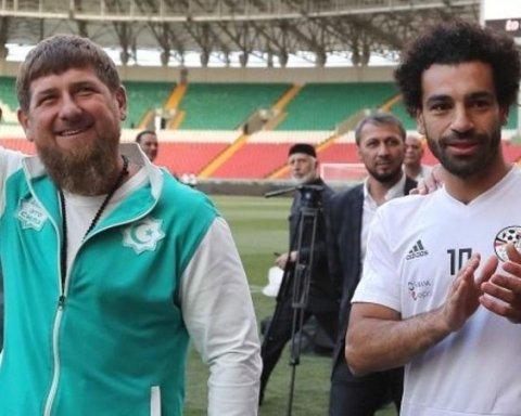 Мохаммед Салах и Рамзан Кадыров