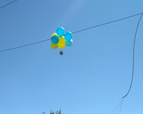 »Украина — это Родина»: возле Донецка прошла яркая акция патриотов