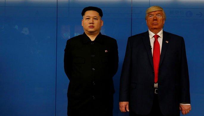 Двійники Трампа і Кім Чен Ина знялися в кліпі російського співака