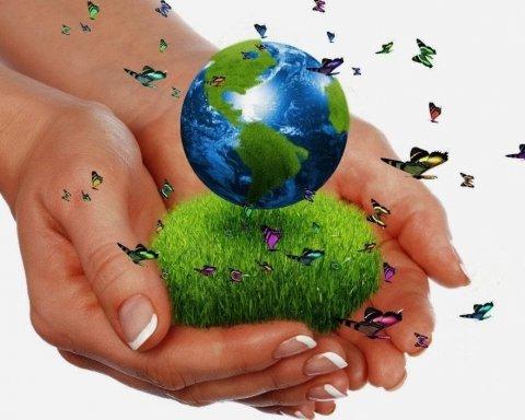 Google создал интересный дудл по случаю Дня Земли
