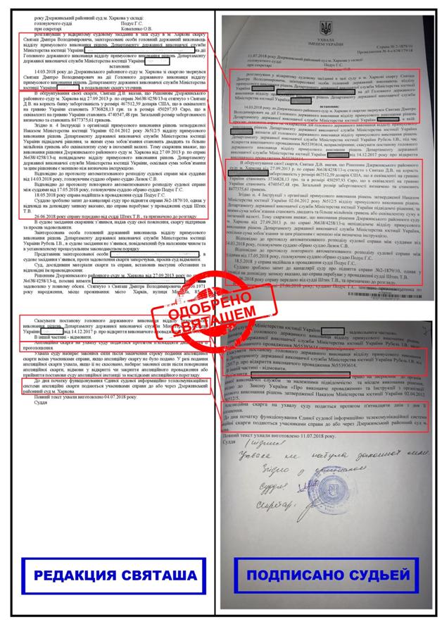 Взлом личной электронной почты судьи доказал — судья Подус получает разрешения от сторон и подписывает их