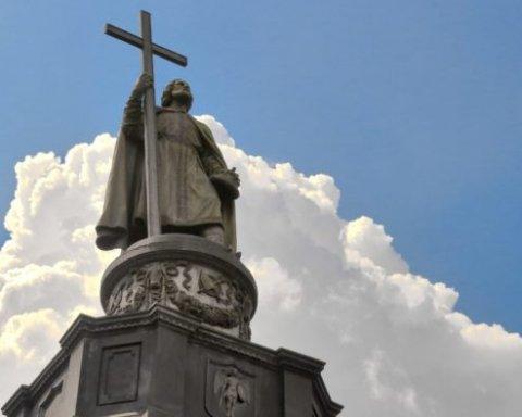 Украинские священники спели гимн Украины