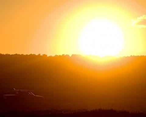В небе над Харьковом заметили необычный природный феномен