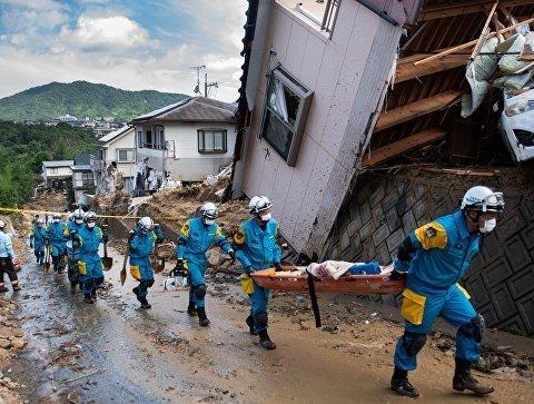 Наводнение в Японии: жертвами смертельной непогоды стали более 200 человек