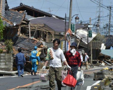 Землетрясение в 6 баллов всколыхнуло Японию