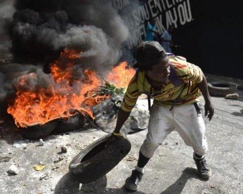 На Гаїті почалися криваві протести через підвищення цін на паливо
