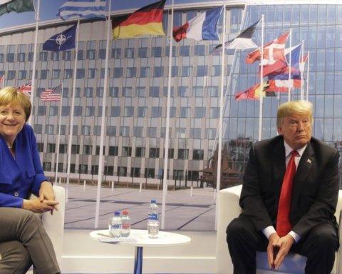 Трамп похвалився гарними відносинами з Меркель