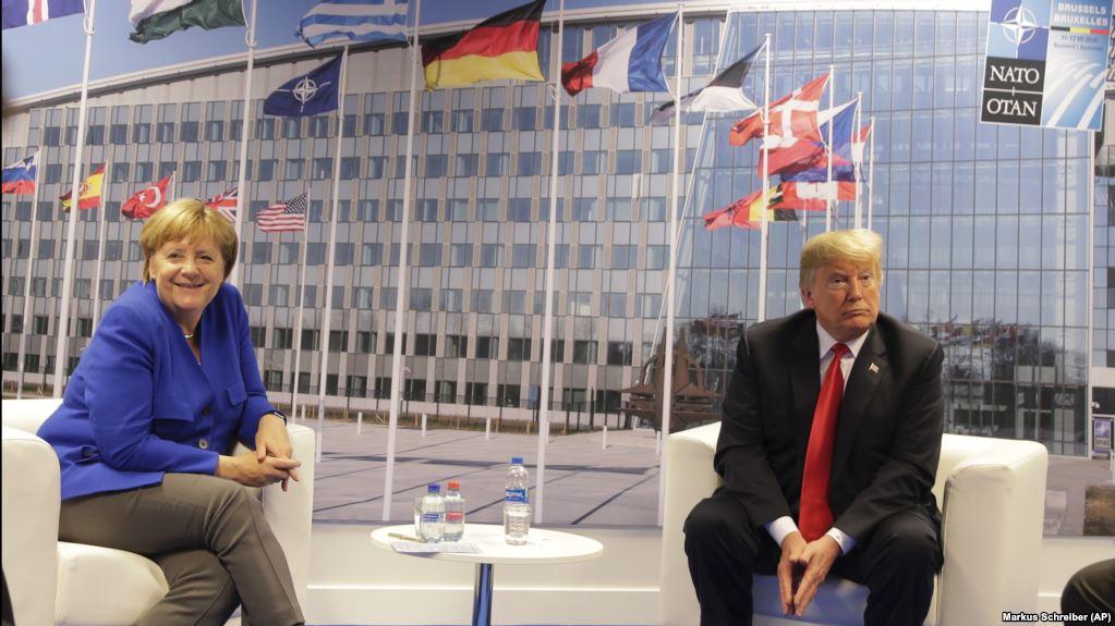 Трамп похвастался хорошими отношениями с Меркель