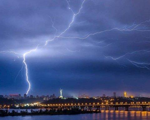 Срочное предупреждение: на Украину надвигается шторм