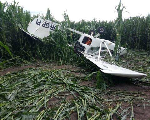 На Сумщине разбился самолет с людьми