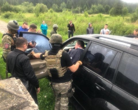 Луценко повідомив про арешт Москаля