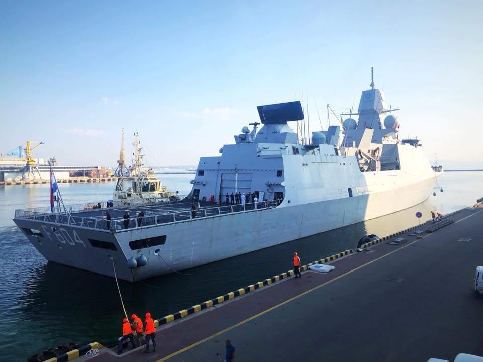 Военные корабли НАТО прибыли в Украину