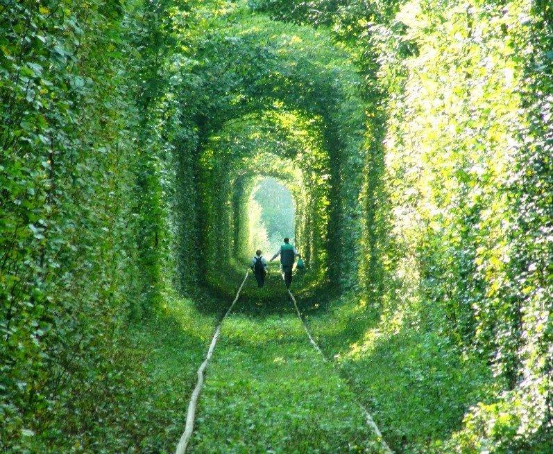 """Вхід в знаменитий """"Тунель кохання"""" буде платним"""