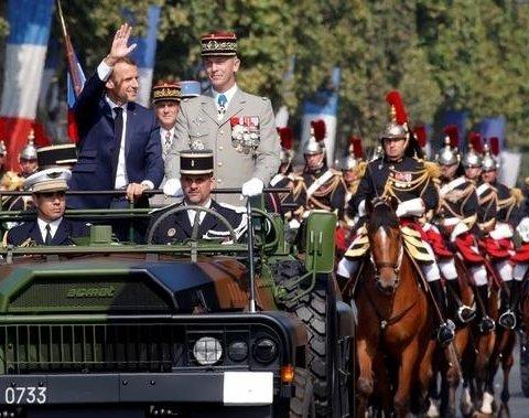 Как во Франции проходит День взятия Бастилии