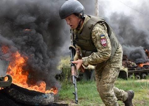 Український воїн підірвався на Донбасі