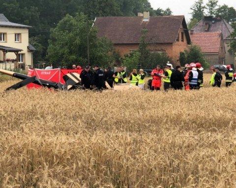 У Польщі розбився вертоліт: є жертви